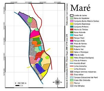 Mapas decoloniais e o ensino de Geografia no bairro Maré