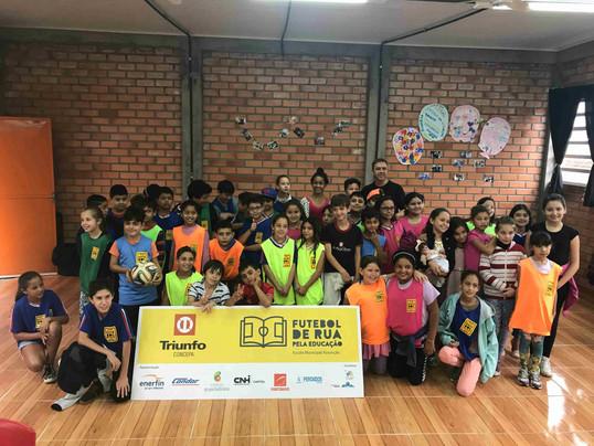 Triunfo Concepa inicia atividades do projeto Futebol de Rua