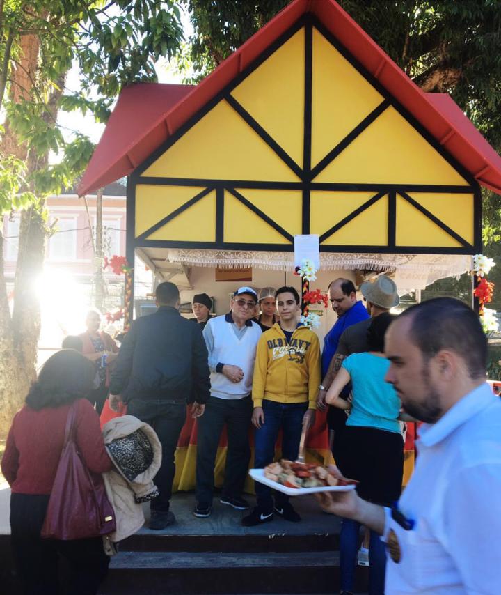 Lar Santa Catarina participa da Bauernfest