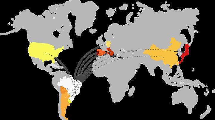 cdhic, imigrantes, refugiados, direitos humanos, defesa, espaço migrante, são paulo, crianças , adolescentes, migrante, , centro de direitos humanos e cidadania do imigrante, mapa, mapa imigrantes no brasil