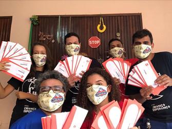 Lona na Lua realiza ação social em parceria com a ONG Gerando Falcões