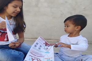 """""""Brinque em Casa"""" faz sucesso na Vila Yara"""