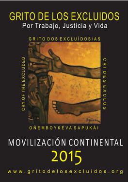 Cartaz Grito Continental 2015
