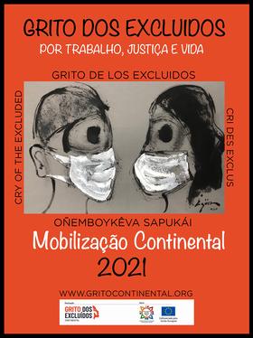 Cartaz Grito Continental 2021