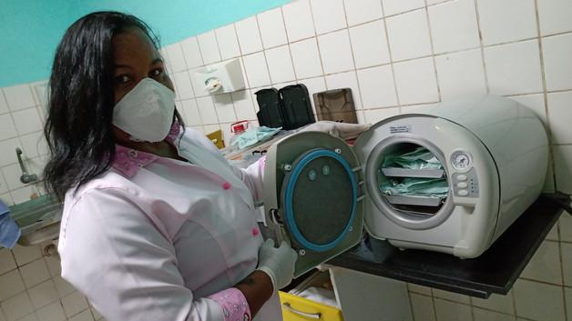 Atendimento consultório odontológico