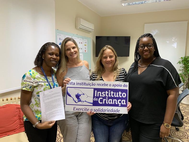 Lar assina parceria com Instituto da Criança