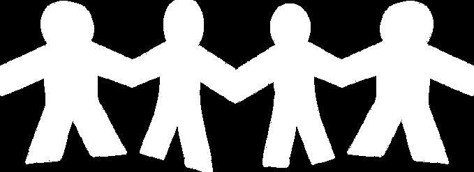 ícones de pessoas de mão dadas