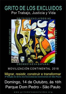 Cartaz Grito Continental 2018