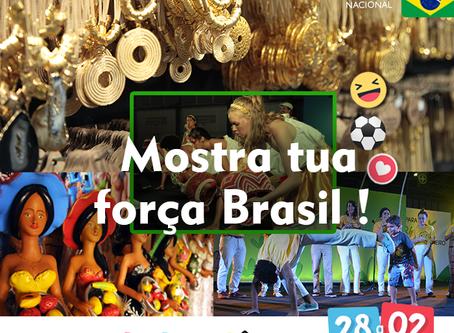 Mostra tua força Brasil!
