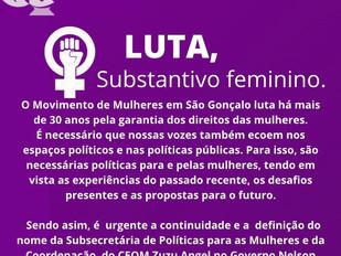 Luta, substantivo feminino.
