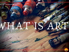 """Is the question """"What is art?"""" worth asking?"""