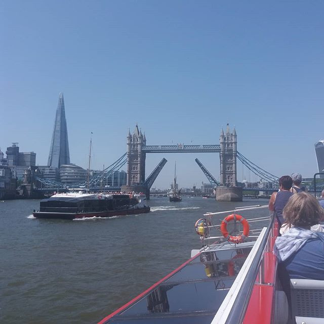 Boat tour of the Thames