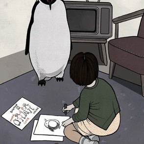 Death and the Penguin - Adoption
