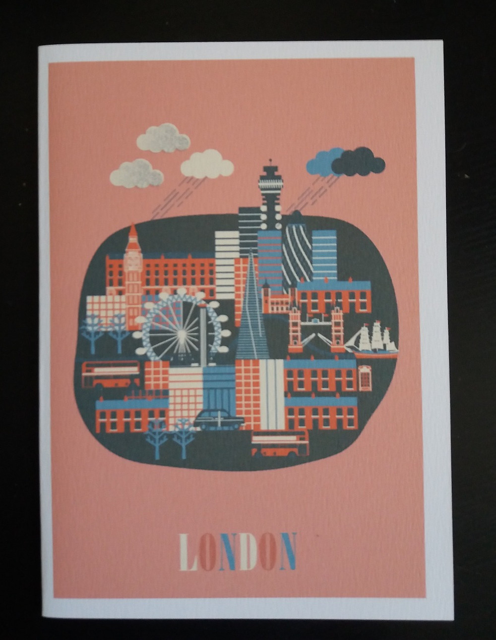 Linda Fahrlin's London card