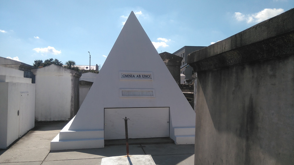 Nick Cage's tomb