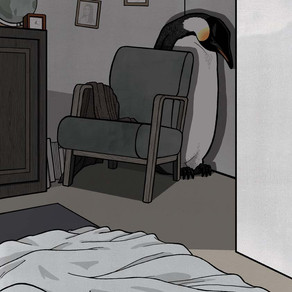 Death and the Penguin - Alone