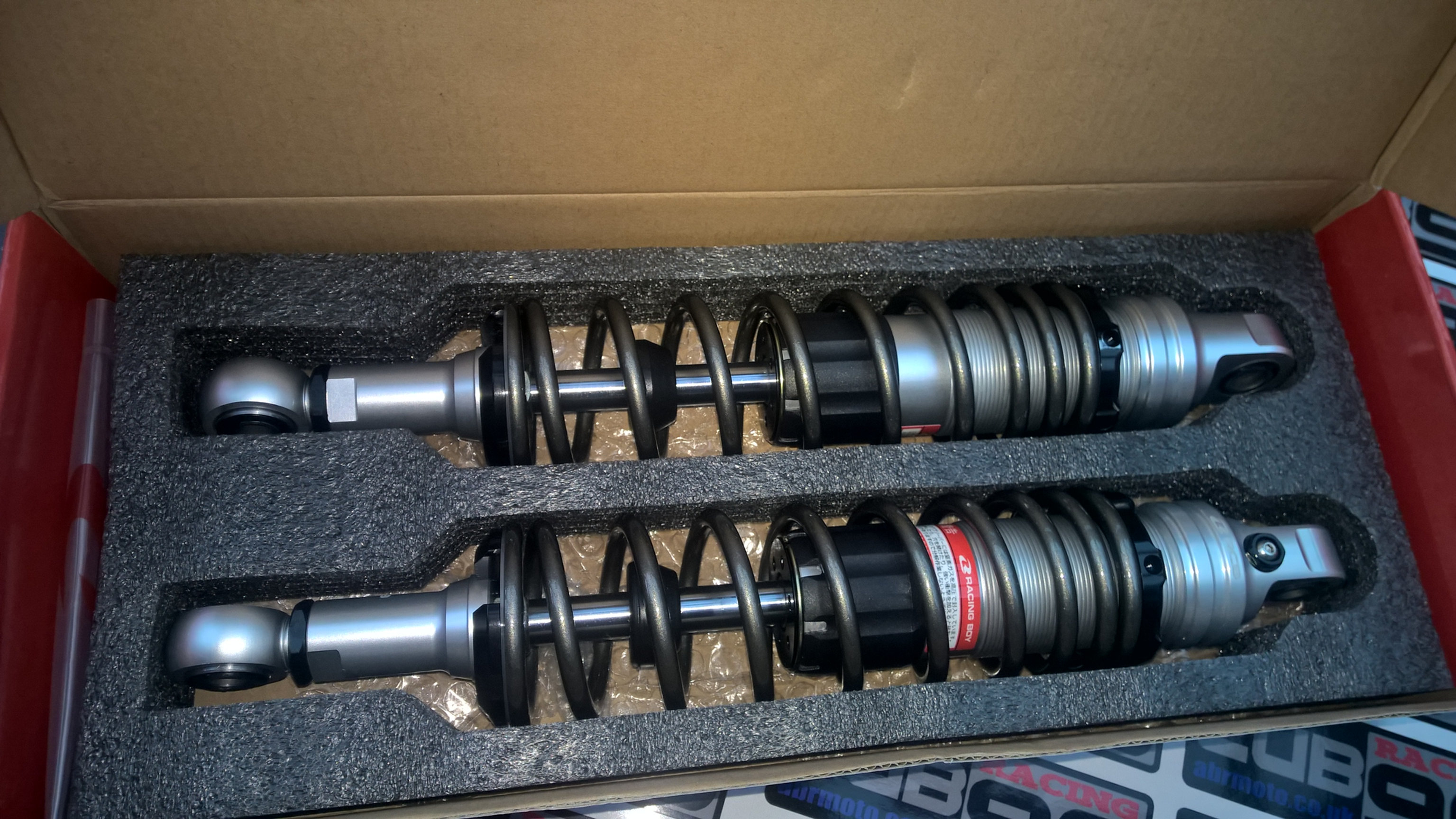 NEW Racing Boy V5 C90 Adjustable Race Shocks