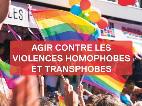 Un an après, il est temps d'agir contre les violences homophobes et transphobes !