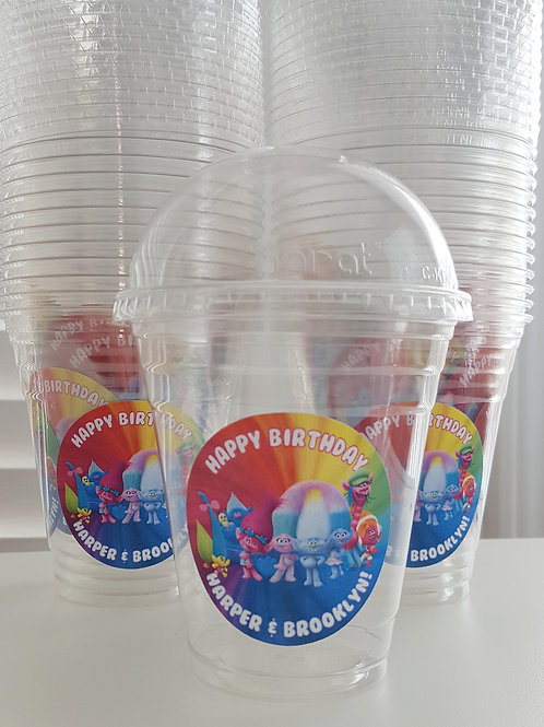 Set of 24- Trolls Popcorn/ Treat Cups