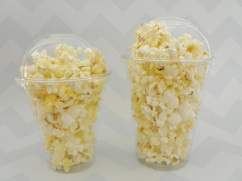 Set of 24- Clear Popcorn/Treat Cups