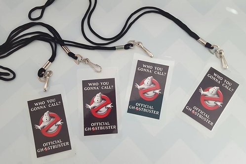 Ghostbuster Badges