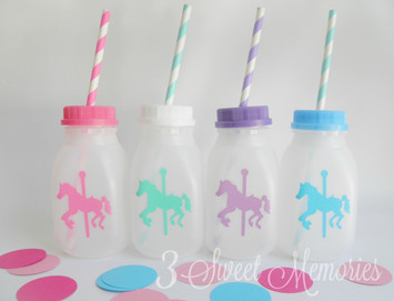 jugs, bottles, old school, carousel