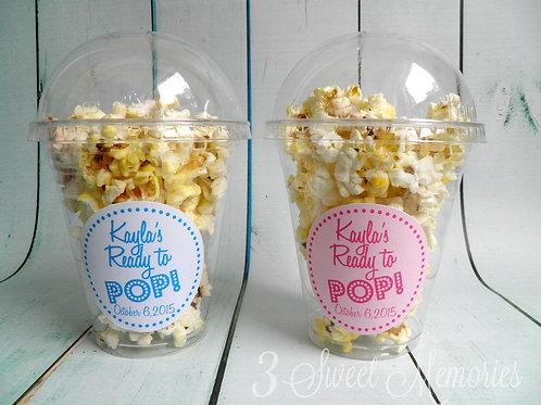 Set of 24- Baby Shower Popcorn/ Treat Cups