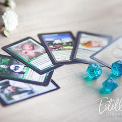 Faire-part mariage carte de jeu