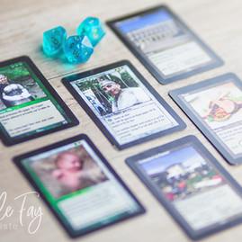Faire-part de mariage carte de jeu