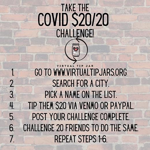 Take the Coronavirus $20_20 Challenge! (