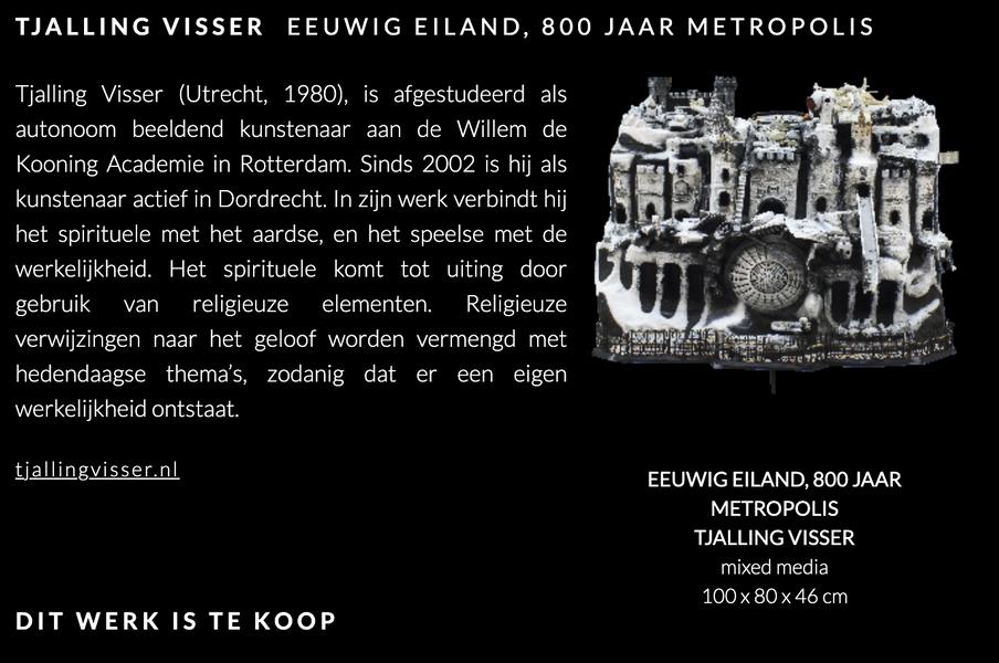Eeuwig eiland- 800 jaar Metropolis | Expositie Dordt Verbeeldt 2021