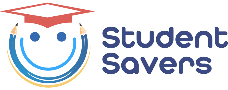 Student savers logo banner with student savers text.