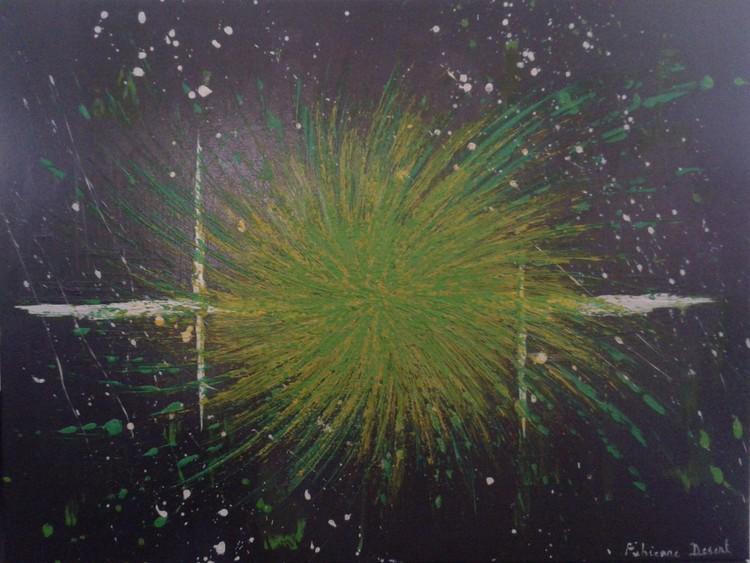 Explosion d'étoile (gris)