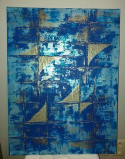 Bleu d'argent