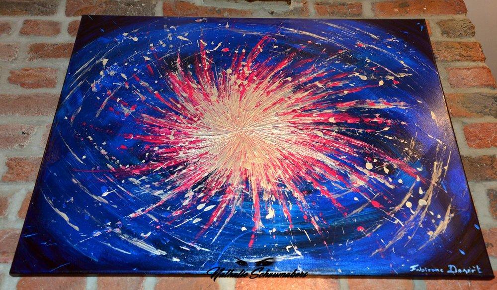 Explosion d' étoile (bleu)