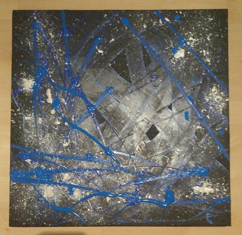 L'univers en bleu