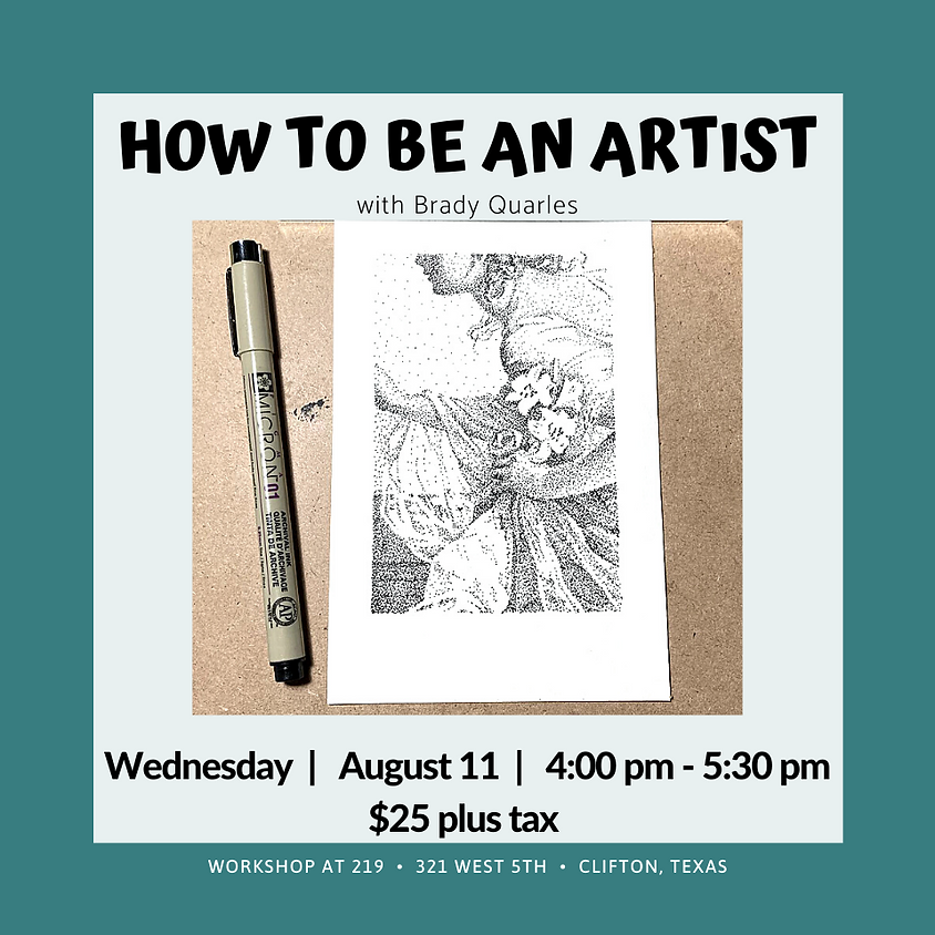How To Be An Artist Series