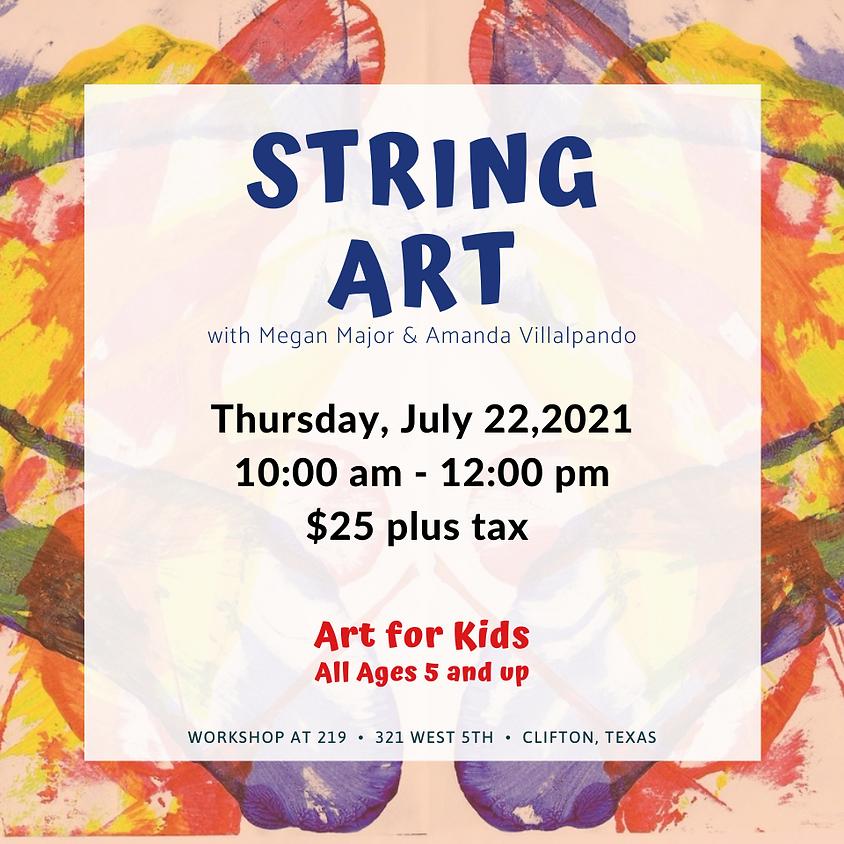 Youth Art - String Art