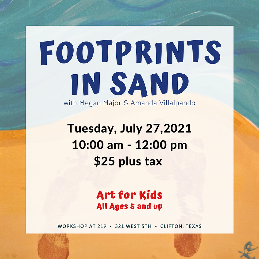 Youth Art - Footprint in Sand