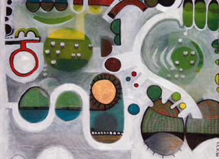 New works of a series to be exhibited at the SWA Annual and in the Fountain Gallery in June-July