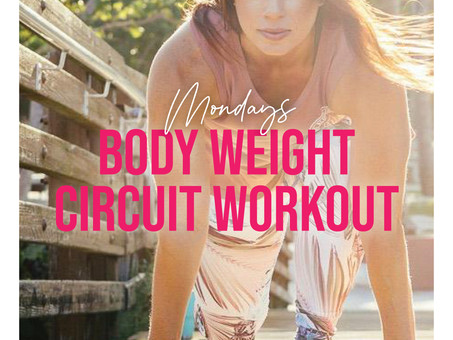 Body Weight Circuit Workout