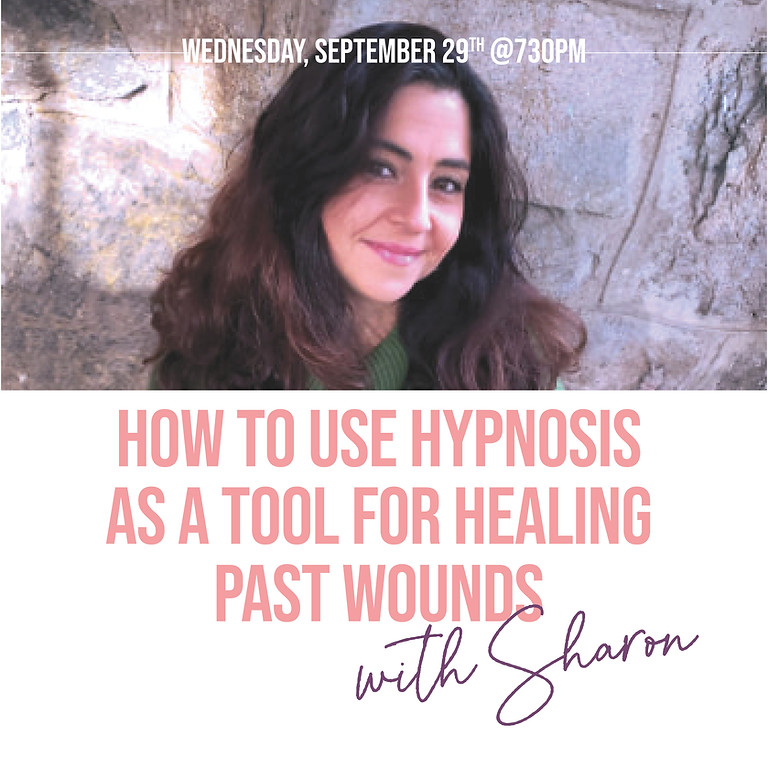 Hypnosis With Sharon