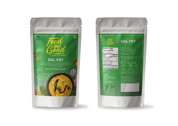 Feed me Good pouch packaging