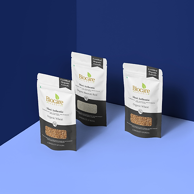 Biocare Organic Packging Design by Wesually