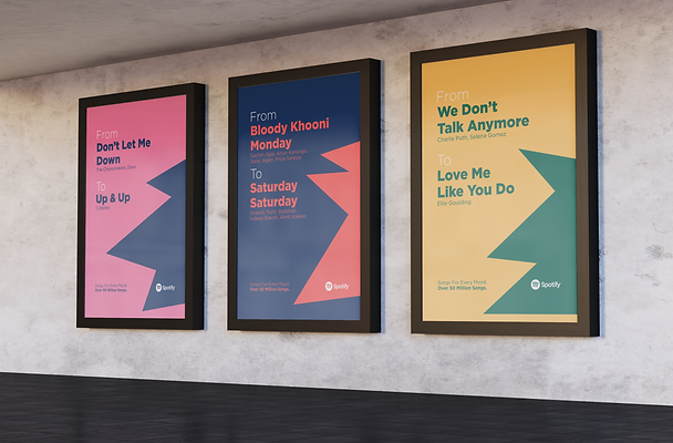 Spotify Premium Ad Campaign by Wesually