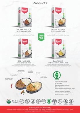 Waah Organics Brochure