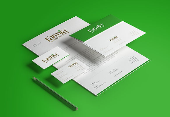 Farmia Stationary Design by Wesually