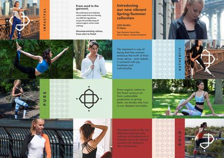 Satva Living Brochure Design