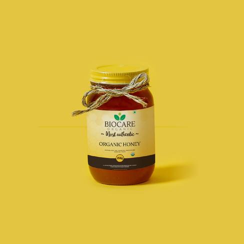 Biocare Organics Honey Jar