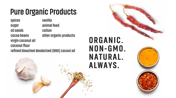 Suminter India Organics Poster